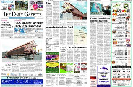 The Daily Gazette – April 29, 2018