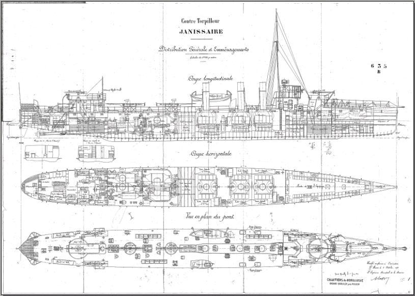 Marine Nationale - JANISSAIRE 1910
