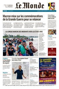 Le Monde du Dimanche 4 et Lundi 5 Novembre 2018