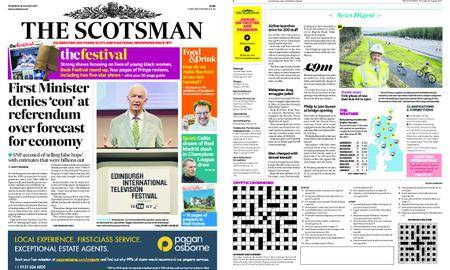 The Scotsman – August 24, 2017