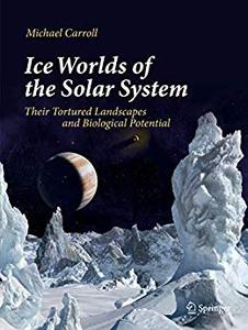 Ice Worlds of the Solar System: Their Tortured Landscapes and Biological Potential