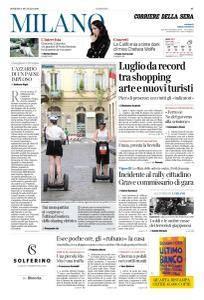 Corriere della Sera Milano - 29 Luglio 2018
