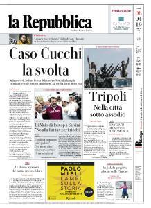 la Repubblica - 8 Aprile 2019