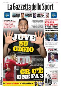 La Gazzetta dello Sport Roma – 15 novembre 2019