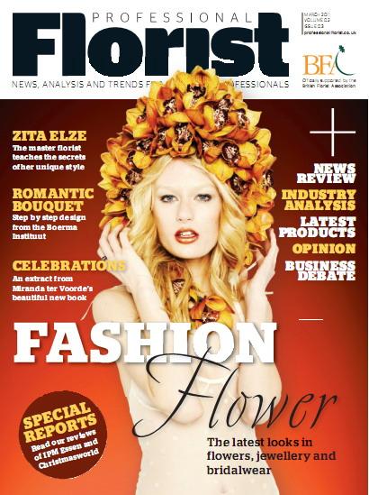 Professional Florist Magazine March 2011