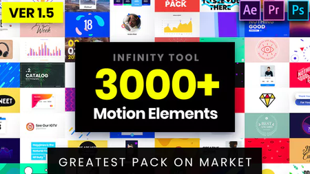 Infinity Tool - Greatest Pack for Video Creators - Project for After Effects (VideoHive) 23736432