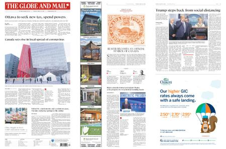 The Globe and Mail – March 24, 2020