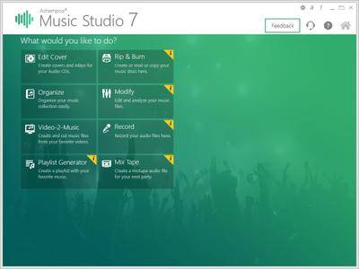 Ashampoo Music Studio 7.0.2.5 DC 22.03.2019 Multilingual