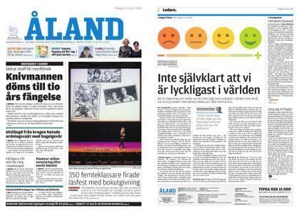 Ålandstidningen – 20 mars 2018