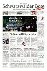 Schwarzwälder Bote Blumberg - 05. August 2019