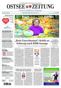 Ostsee Zeitung Grevesmühlener Zeitung - 08. Oktober 2019