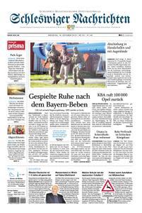 Schleswiger Nachrichten - 16. Oktober 2018