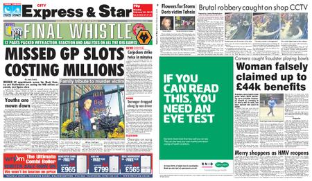 Express and Star City Edition – February 25, 2019