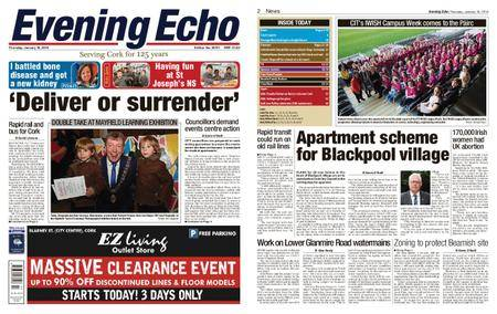 Evening Echo – January 18, 2018