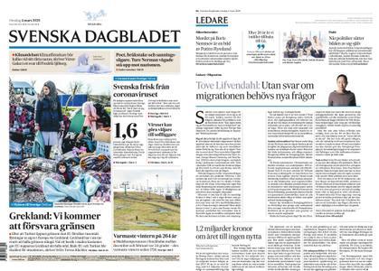 Svenska Dagbladet – 04 mars 2020