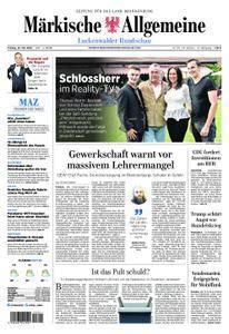 Märkische Allgemeine Luckenwalder Rundschau - 25. Mai 2018