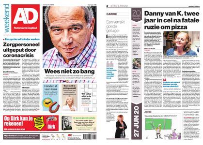 Algemeen Dagblad - Hoeksche Waard – 27 juni 2020