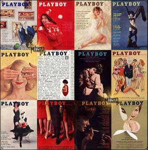 Playboy USA - Full Year 1961 Issues Collection