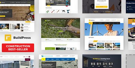 ThemeForest - BuildPress v5.1.1 - Multi-purpose Construction and Landscape WP Theme - 9323981