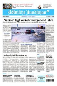 Kölnische Rundschau Wipperfürth/Lindlar – 10. Februar 2020