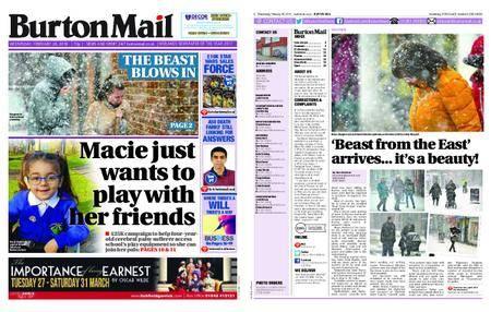 Burton Mail – February 28, 2018
