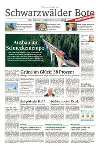 Schwarzwälder Bote Blumberg - 20. September 2019