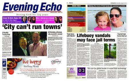 Evening Echo – August 30, 2017