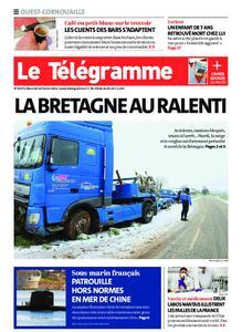 Le Télégramme Ouest Cornouaille – 10 février 2021