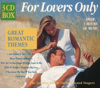 The London Studio Orchestra And Singers – For Lovers Only: Great Romantic Themes (1997) {3CD Box Set}