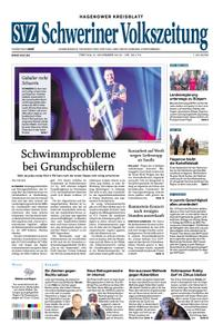 Schweriner Volkszeitung Hagenower Kreisblatt - 09. November 2018