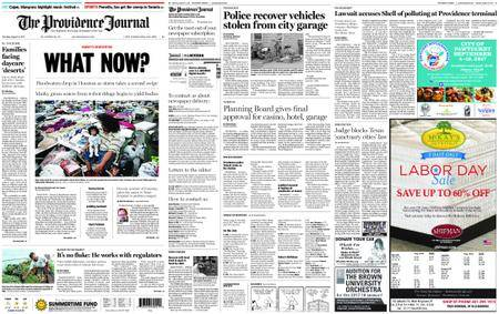 The Providence Journal – August 31, 2017