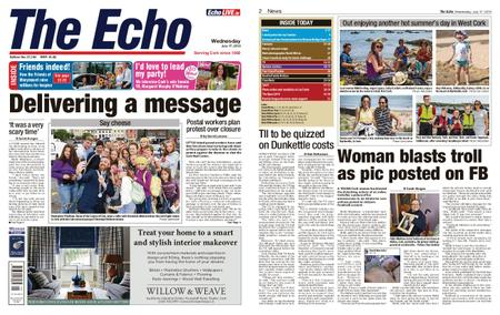 Evening Echo – July 17, 2019