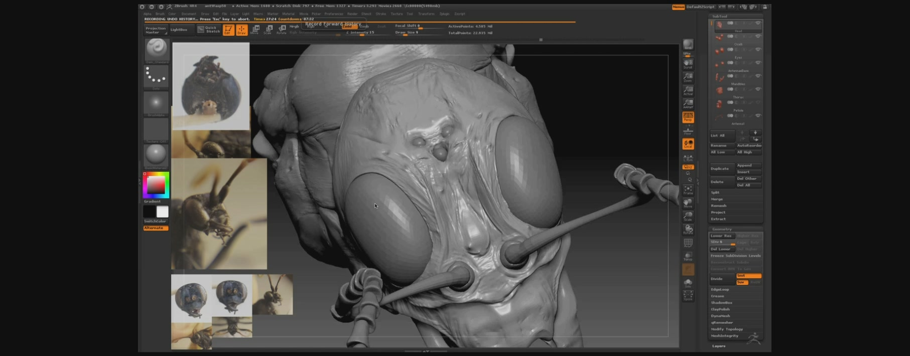 The Gnomon Workshop: Hyper-real Insect Design with Eric Keller