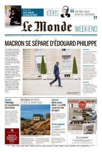 Le Monde du Samedi 4 Juillet 2020