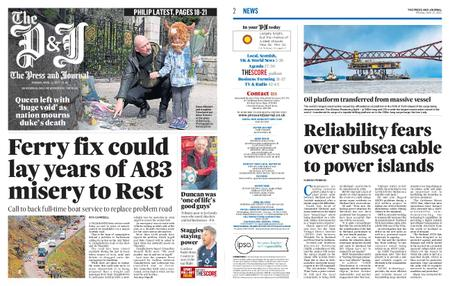 The Press and Journal Moray – April 12, 2021