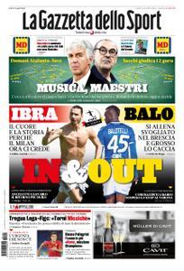 La Gazzetta dello Sport Roma – 22 novembre 2019