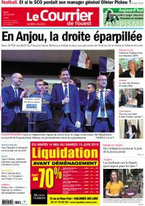 Le Courrier de l'Ouest Nord Anjou – 28 mai 2019