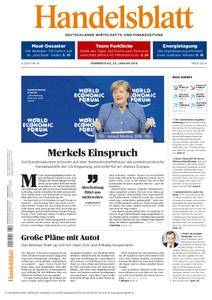 Handelsblatt - 25. Januar 2018