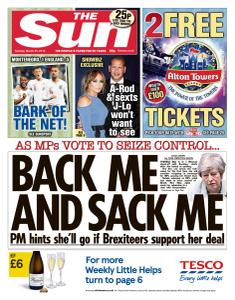 The Sun UK - 26 March 2019