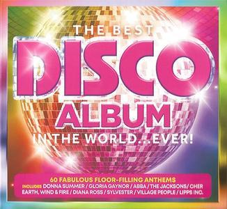 VA - The Best Disco Album In The World... Ever! (3CD, 2019)