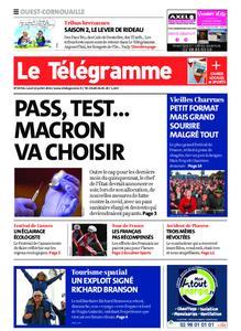 Le Télégramme Ouest Cornouaille – 12 juillet 2021