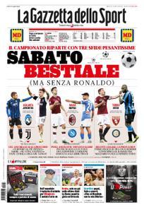 La Gazzetta dello Sport Roma – 23 novembre 2019