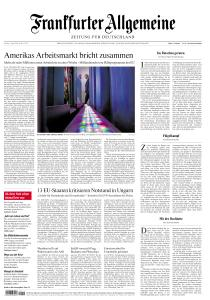 Frankfurter Allgemeine Zeitung - 3 April 2020