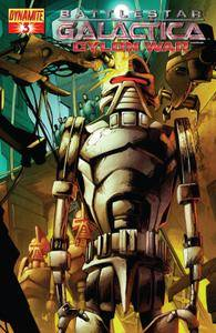 Battlestar Galactica - Cylon War 003 2009 2 covers digital