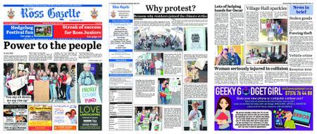 The Ross Gazette – September 25, 2019