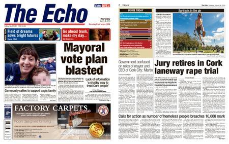 Evening Echo – March 28, 2019