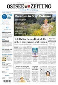 Ostsee Zeitung Wolgast - 07. September 2017