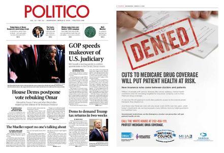 Politico – March 06, 2019
