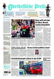 Oberhessische Presse Marburg/Ostkreis - 22. Januar 2019