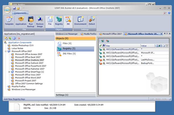 Simon Jarvis USMT XML Builder v8.6.39
